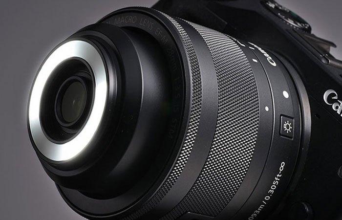 Ống kính Canon vẫn chưa có giá bán cụ thể