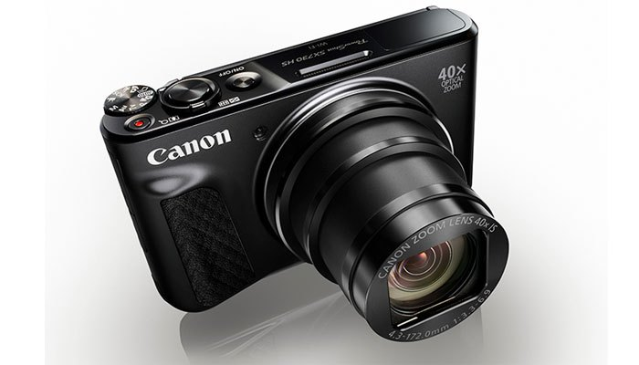 Máy ảnh Canon PowerShot SX730 HS với khả năng siêu zoom cùng màn hình lật cho bạn selfie thả ga