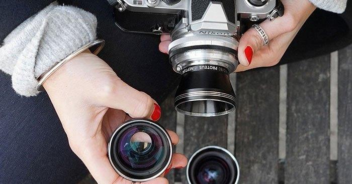 Mỗi ống kính máy ảnh có mỗi chức năng chụp khác nhau