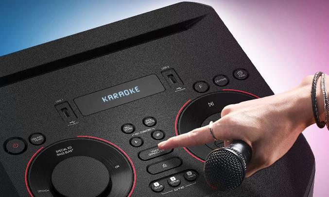 Loa Karaoke LG Xboom RN7.DVNMLLK - Ứng dụng DJ