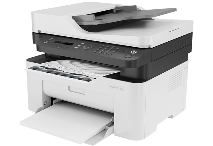 Máy in đa năng HP Laser MFP 137fnw 4ZB84A chất lượng bản in sắc nét