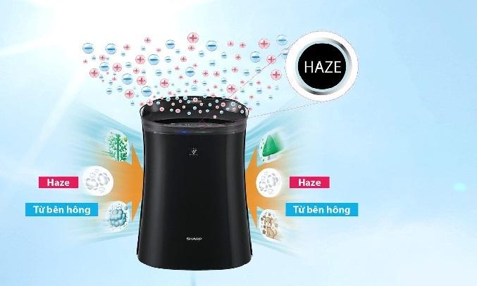 Máy lọc không khí bắt muỗi Sharp FP-GM50E-B -Chế độ tự động Haze