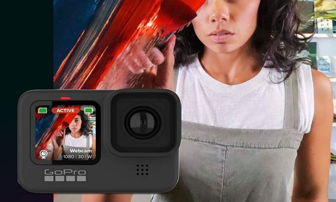 Máy quay Gopro Hero 9 Đen - Webcam Mode