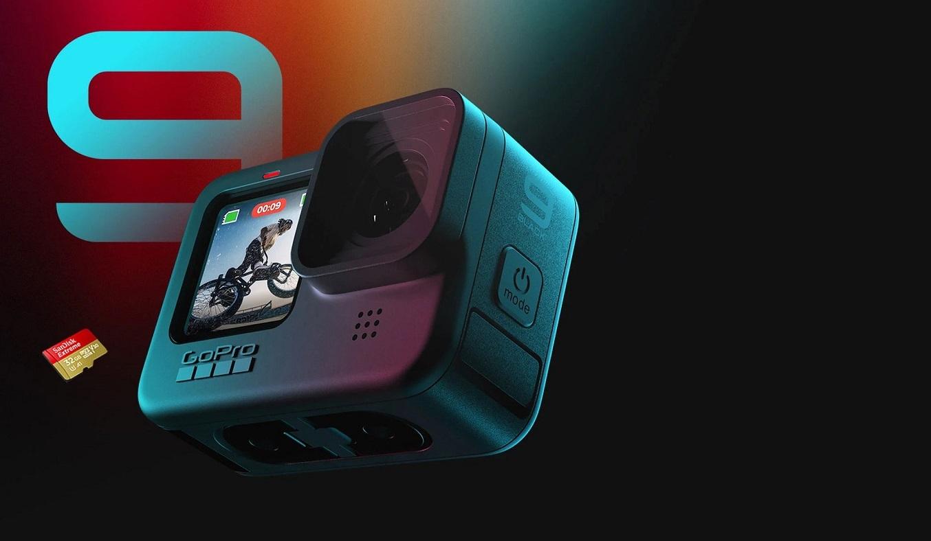 Máy quay Gopro Hero 9 Đen - Cảm biến độ phân giải cao