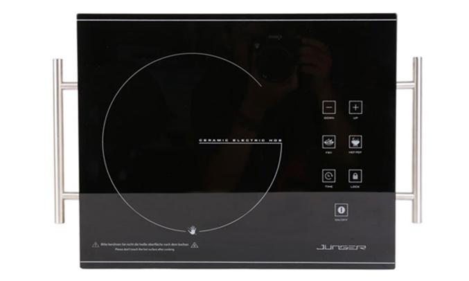 Bếp hồng ngoại Junger ASC-86 - Bảng điều khiển cảm ứng