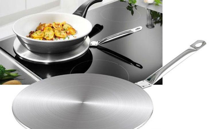 Đĩa từ giúp hỗ trợ trong trường hợp bạn chưa kịp trang bị bộ nồi nấu ăn tương thích