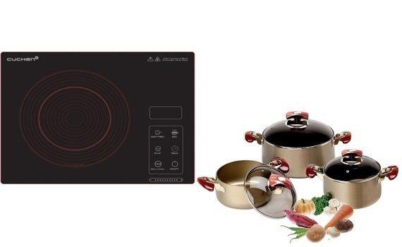 Bếp hồng ngoạiCuchen CHR-F160VN không kén nồi