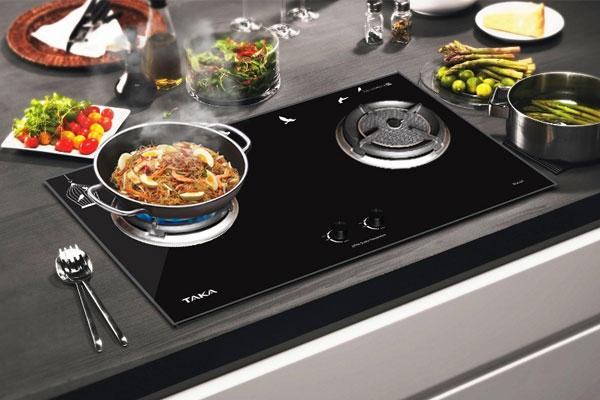 Bếp gas sạch sẽ giúp bạn nấu ăn nhanh chóng hơn