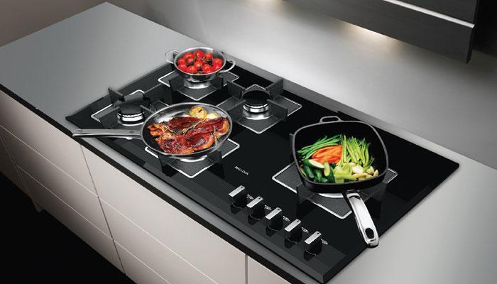 Nhiều gia đình hiện đại thường chọn bếp gas âm để tăng sự sang trọng cho căn bếp