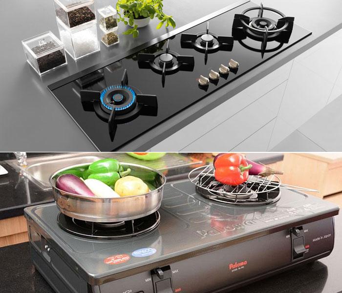 Phân biệt bếp gas âm và bếp gas dương để chọn lựa thiết bị phù hợp nhất