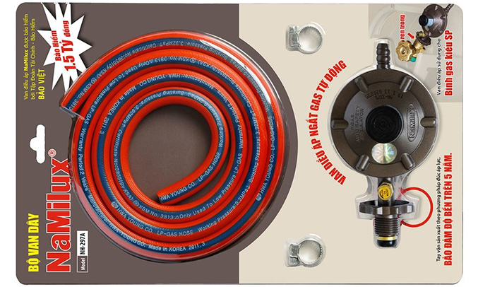 Bộ van gas NamiluxNA-297A bền bỉ