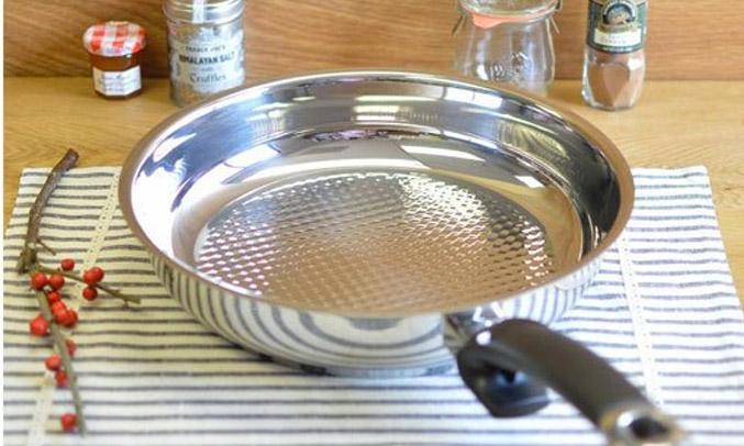 Kết quả hình ảnh cho Fissler - Chảo Inox Fissler Steelux Cao Cấp 28cm