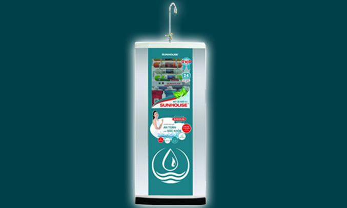 Máy lọc nước Sunhouse SHR88010R thiết kế phù hợp mọi ngôi nhà