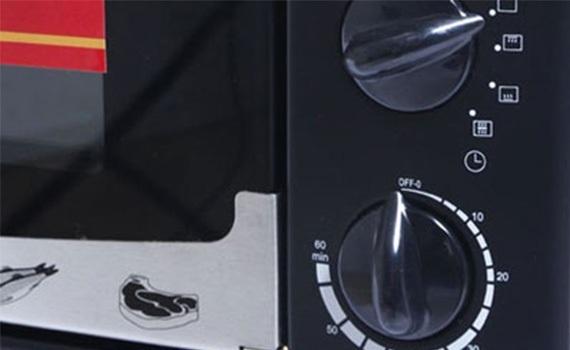 Lò nướng Sanaky VH-359N 35 lít có chức năng hẹn giờ cho bạn sử dụng an toàn