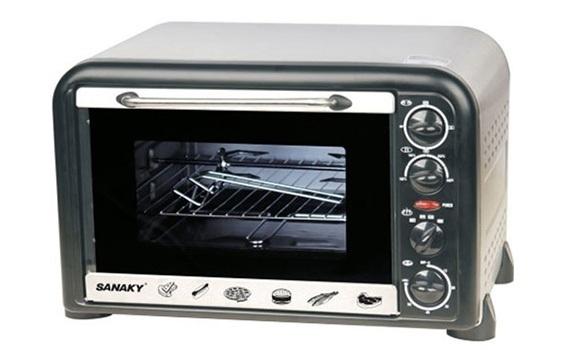 Lò nướng Sanaky VH-369N 36 lít mang đến bữa ăn cho gia đình