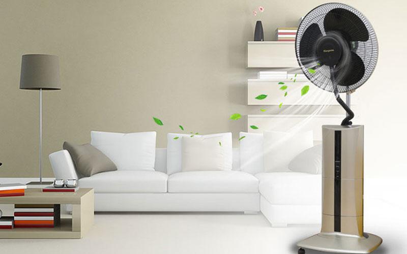 Để quạt phun sương hoạt động hiệu quả việc vệ sinh thiết bị thường xuyên là điều cần thiết