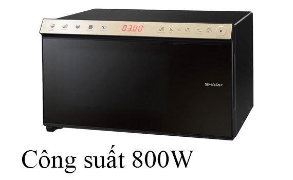 Lò vi sóng Sharp R-29 tiện lợi với công suất 800W và cảm biến thông minh