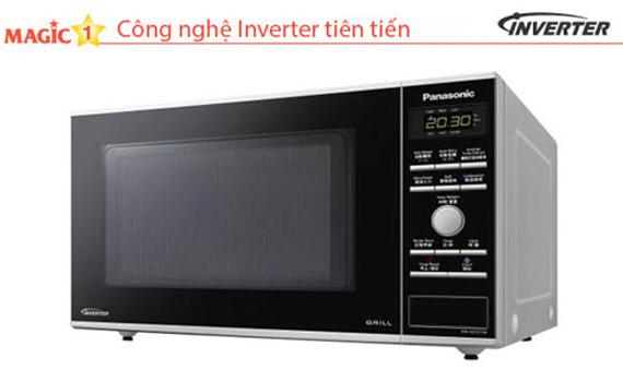 Lò vi sóng Panasonic NN-GD371MYUE 23 lít tiết kiệm điện hiệu quả