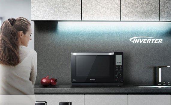 Lò vi sóng Panasonic NN-DS596BYUE tiết kiệm điện hiệu quả