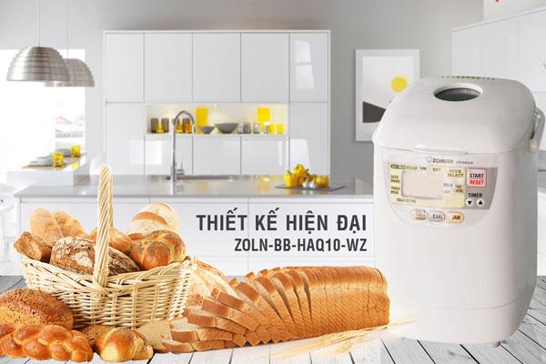 Máy làm bánh mì Zojirushi BB-HAQ10-WZ đơn giản và dễ sử dụng