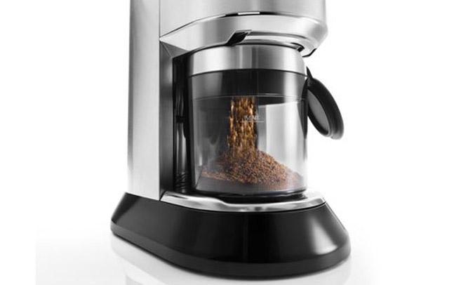 Máy xay cà phê Delonghi KG521.M dễ vệ sinh