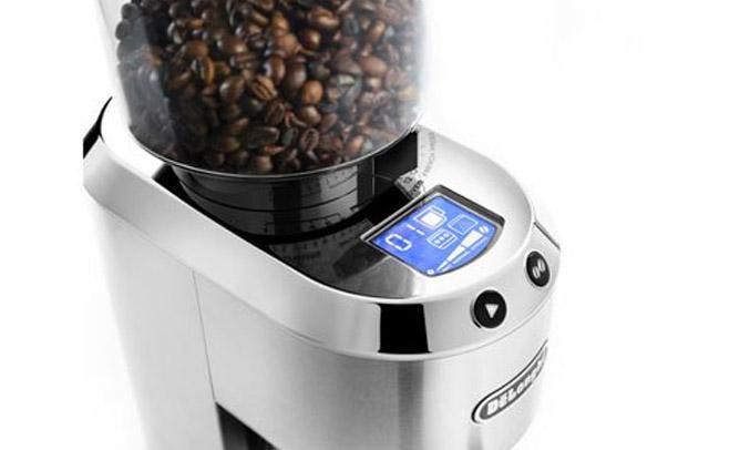 Máy xay cà phê Delonghi KG521.M hiện đại