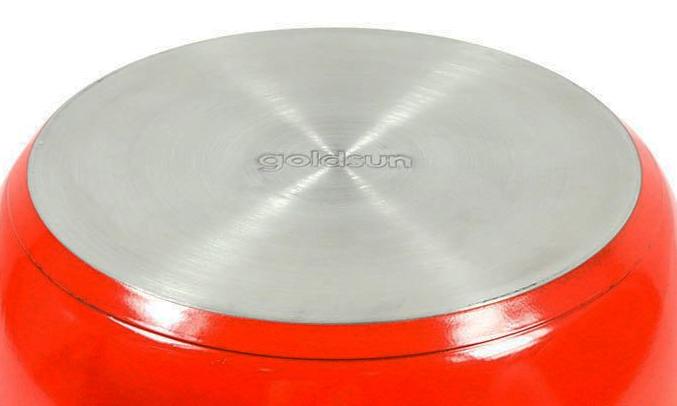 Bộ nồi Goldsun GE31-3306SG (YO) không kén bếp