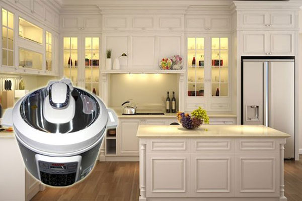 Không chỉ hỗ trợ nấu ăn tối ưu, nồi áp suất điện Aqua còn giúp căn bếp nhà bạn thêm bắt mắt hơn