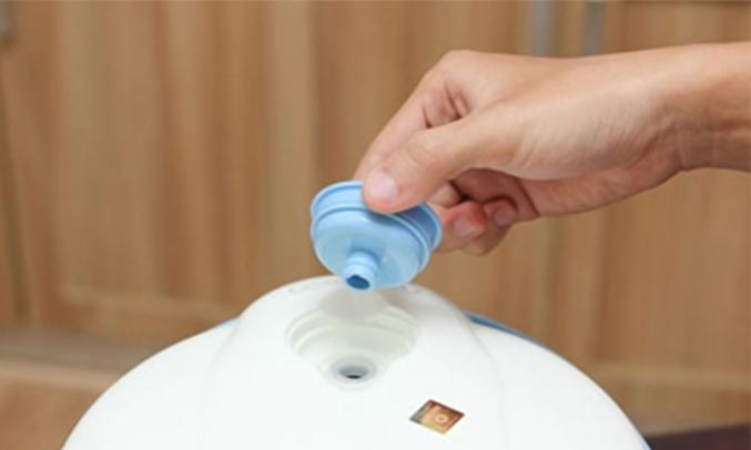 nồi cơm điện Happy Cook HC-120 1.2 lít van thoát hơi nước