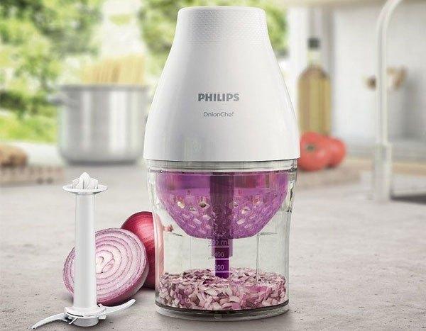 Lưỡi dao sắc bén của máy xay thịt Philips giúp bạn thực hiện thao tác nhanh chóng