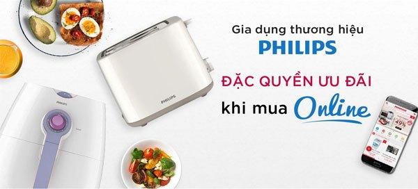 Nhận ngay những phần quà hấp dẫn khi mua sản phẩm gia dụng Philips trong tháng ưu đãi này