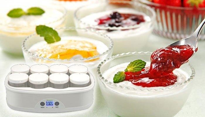 Máy làm sữa chua Kangaroo KG-81 hiện đại sẽ giúp bạn tự làm món ăn khoái khẩu hợp vê sinh