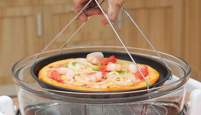 Lò nướng thủy tinh vẫn cho phép bạn làm các loại bánh đơn giản