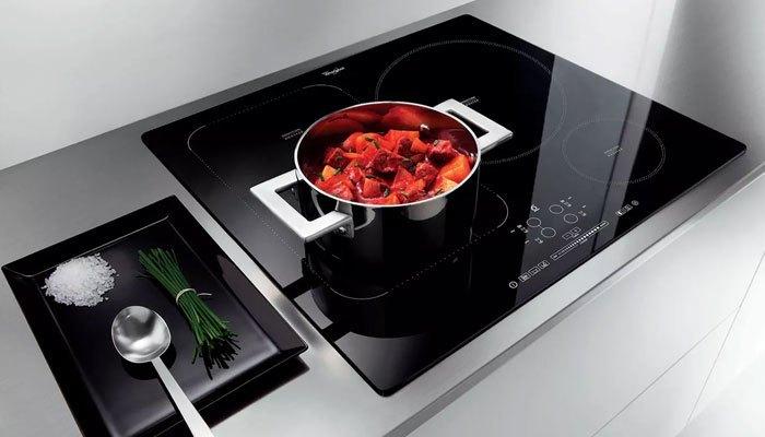 Bếp điện từ âm cho căn bếp thêm hiện đại