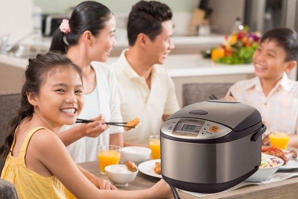 Tăng thêm sự hiện đại cho căn bếp nhà bạn với nồi cơm điện Zojirushi