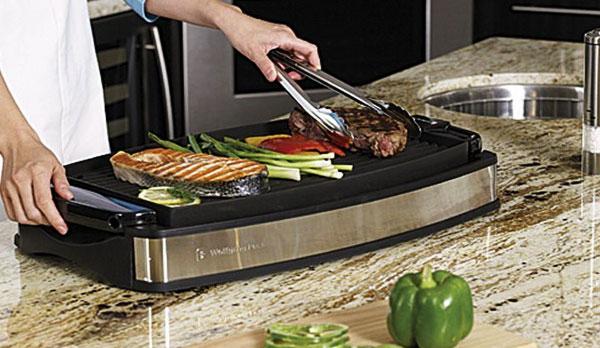 Công suất bếp nướng điện càng lớn, thức ăn nướng chín càng nhanh