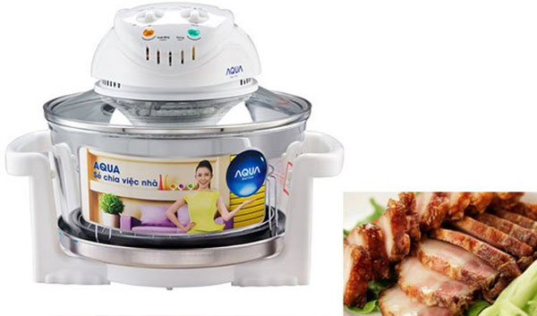 Lò nướng Aqua với nhiều chức năng hiện đại cùng ưu đãi giảm giá hấp dẫn sẽ là dụng cụ không thể thiếu trong căn bếp nhà bạn