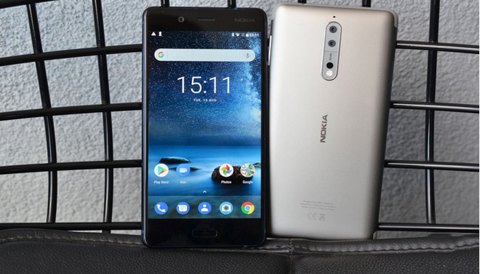 Nokia 8 ra đời với thiết kế sang trọng