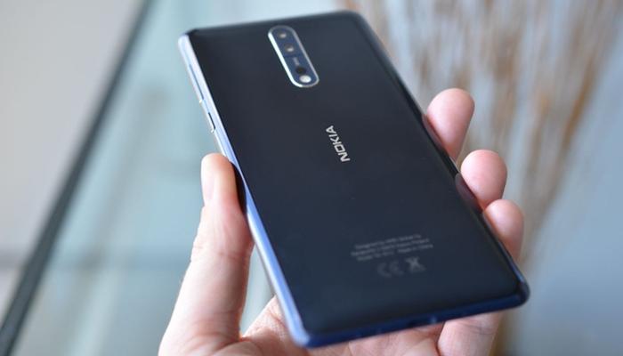 Điện thoại Nokia 8 sử dụng thời gian dài không bị nóng máy