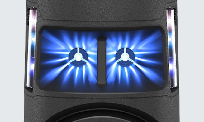 Dàn âm thanh Hifi Sony MHC-V43D M SP6 - Loa trung tần hiệu suất cao