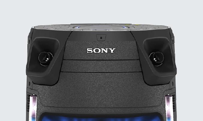 Dàn âm thanh Hifi Sony MHC-V43D M SP6 - Hai Loa tweeter hiệu suất cao