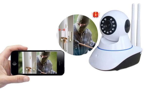 Xem camera qua điện thoại sẽ giúp bạn phát hiện những sự cố sớm nhất