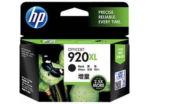Mực in phun HP 920XLCD975AA đen được làm từ chất liệu cao cấp, bền màu