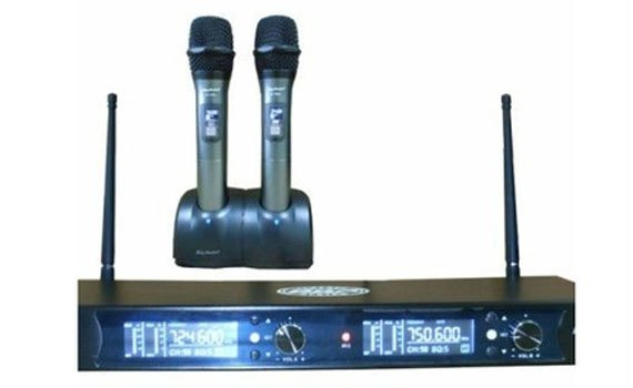 Micro không dây hiệu BN Audio BA-1500II sở hữu thiết kế không dây gọn gàng