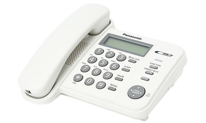 Điện thoại bàn Panasonic KXTS 560 hiện đại
