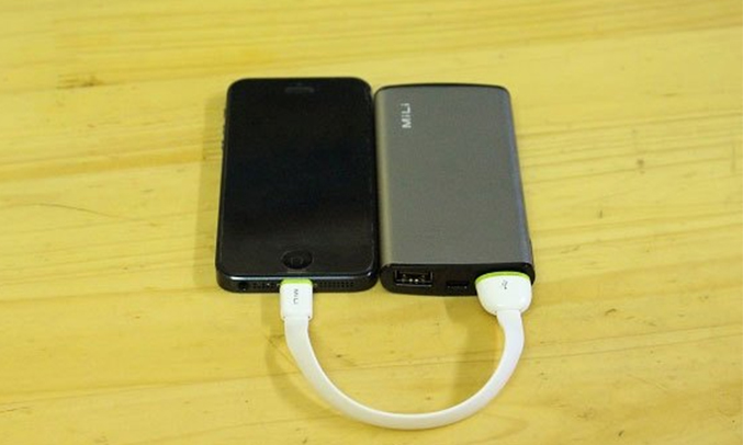 Pin Mili Power Miracle I (HB-Q05) 5000 mAH tự động ngắt