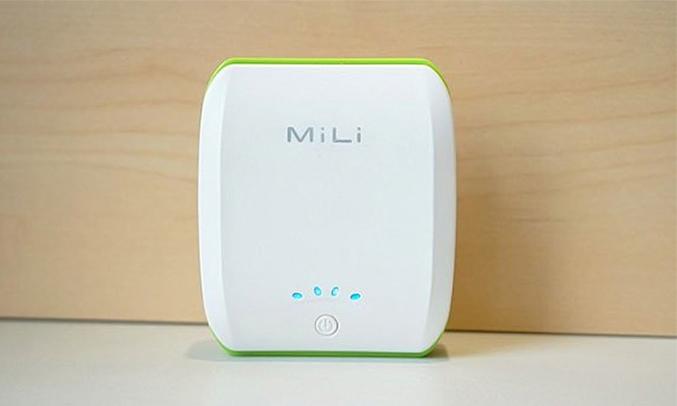Pin Mili Power Ocean 2 - 10400 mAh nhỏ nhắn
