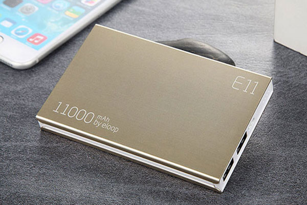 Dung lượng của pin sạc dự phòng thường được thể hiện rõ ở bên ngoài sản phẩm