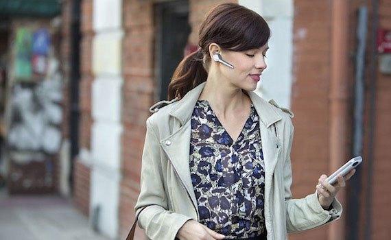 Tai nghe Bluetooth Plantronics Voyager Edge vàng trắng giảm ồn, hạn chế mọi âm thanh