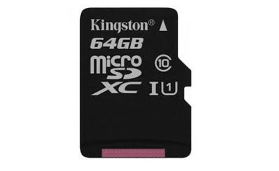 Thẻ nhớ Kingston 64GB SDHC nhỏ gọn tiện ích, giá khuyến mãi tại nguyenkim.com